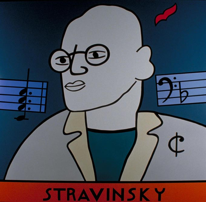 Stravinsky enamel
